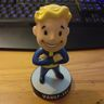 My Vault-Boy bobblehead. It bobbles.