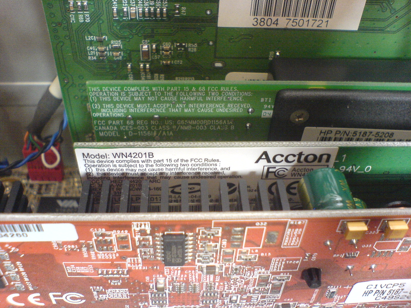 Accton WN4201B(EU) 802.11g Wireless PCI Card Free Driver Download