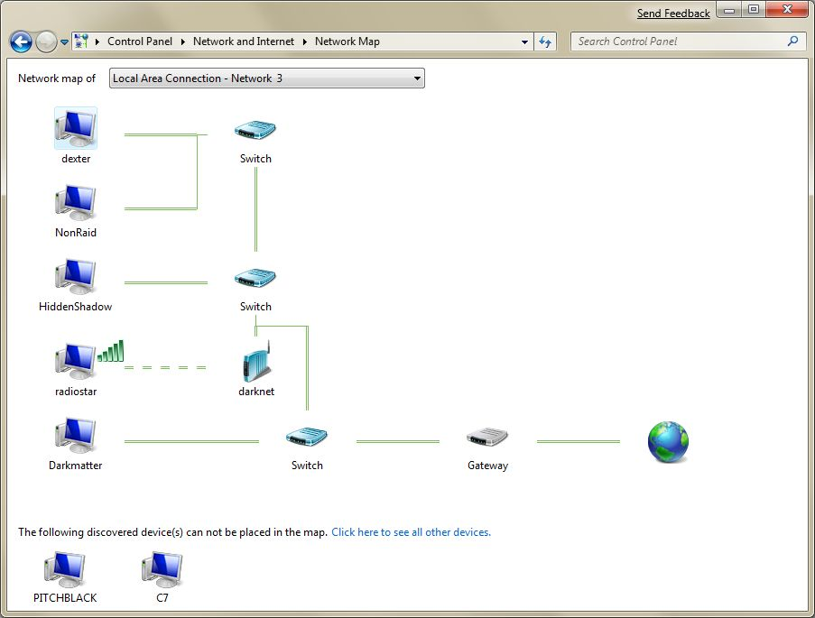 Mapping your network with Windows 7