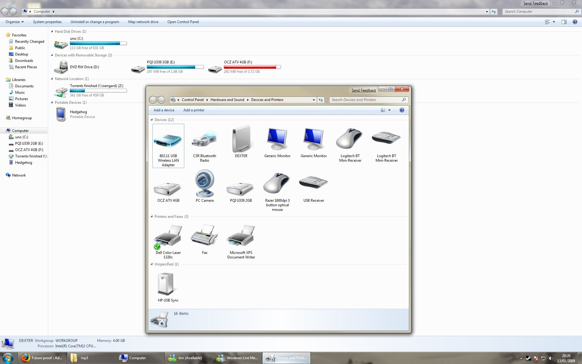 Future proof » Blog Archive » Windows 7: Devices and