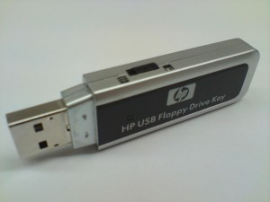 HP USB Floppy Drive Key.